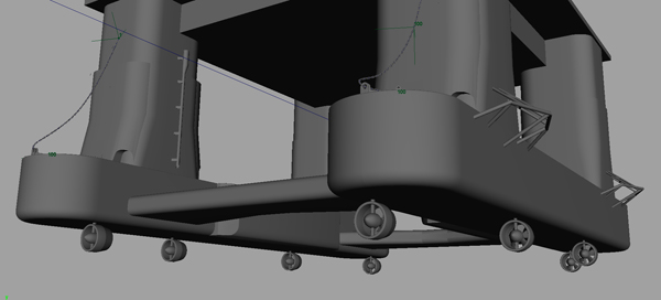3d model of the rig