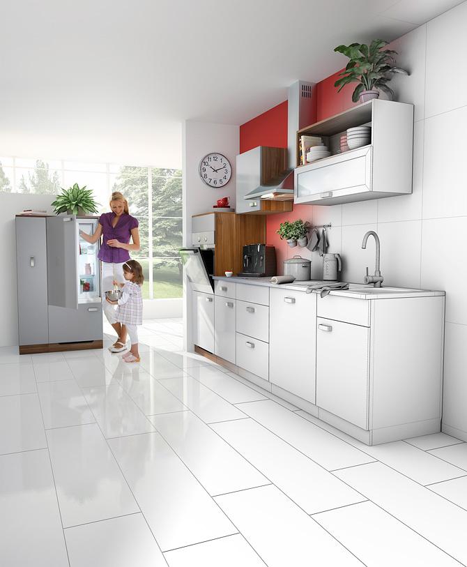 wireframe kitchen