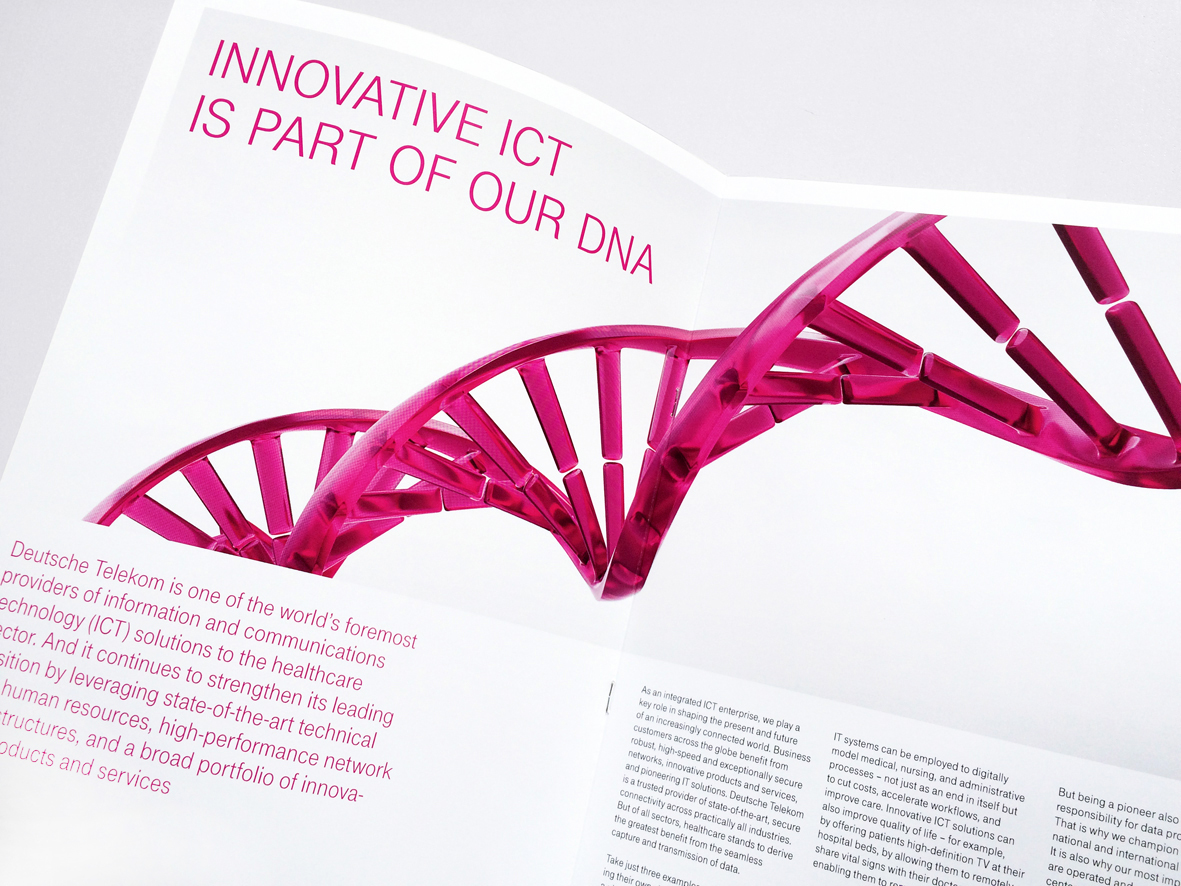 close-up dna image brochure