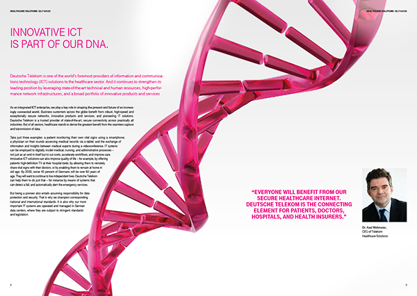 image brochure dna