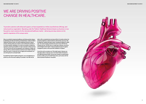 image brochure heart