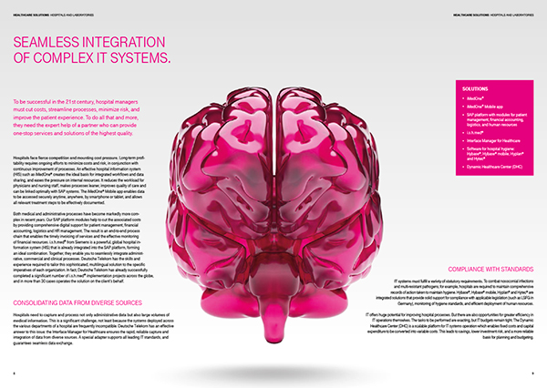 image brochure brain