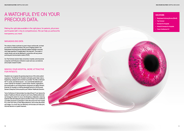 image brochure eye