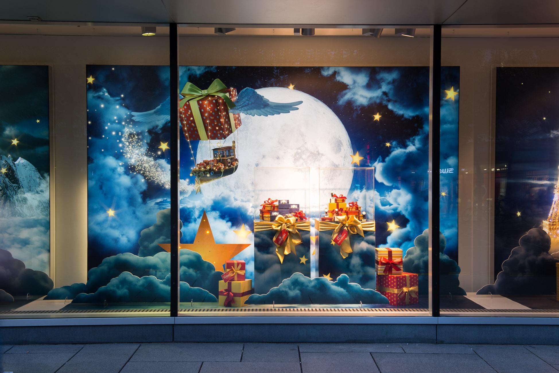 galeria kaufhof christmas campaign viaframe