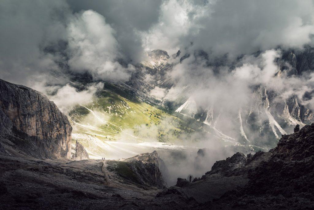 Dolomites Rosengarten Group